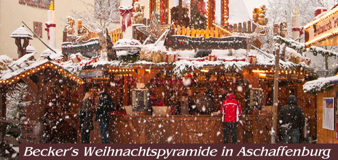 Weihnachtspyramide Aschaffenburg
