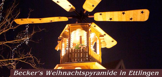 Weihnachtspyramide Ettlingen